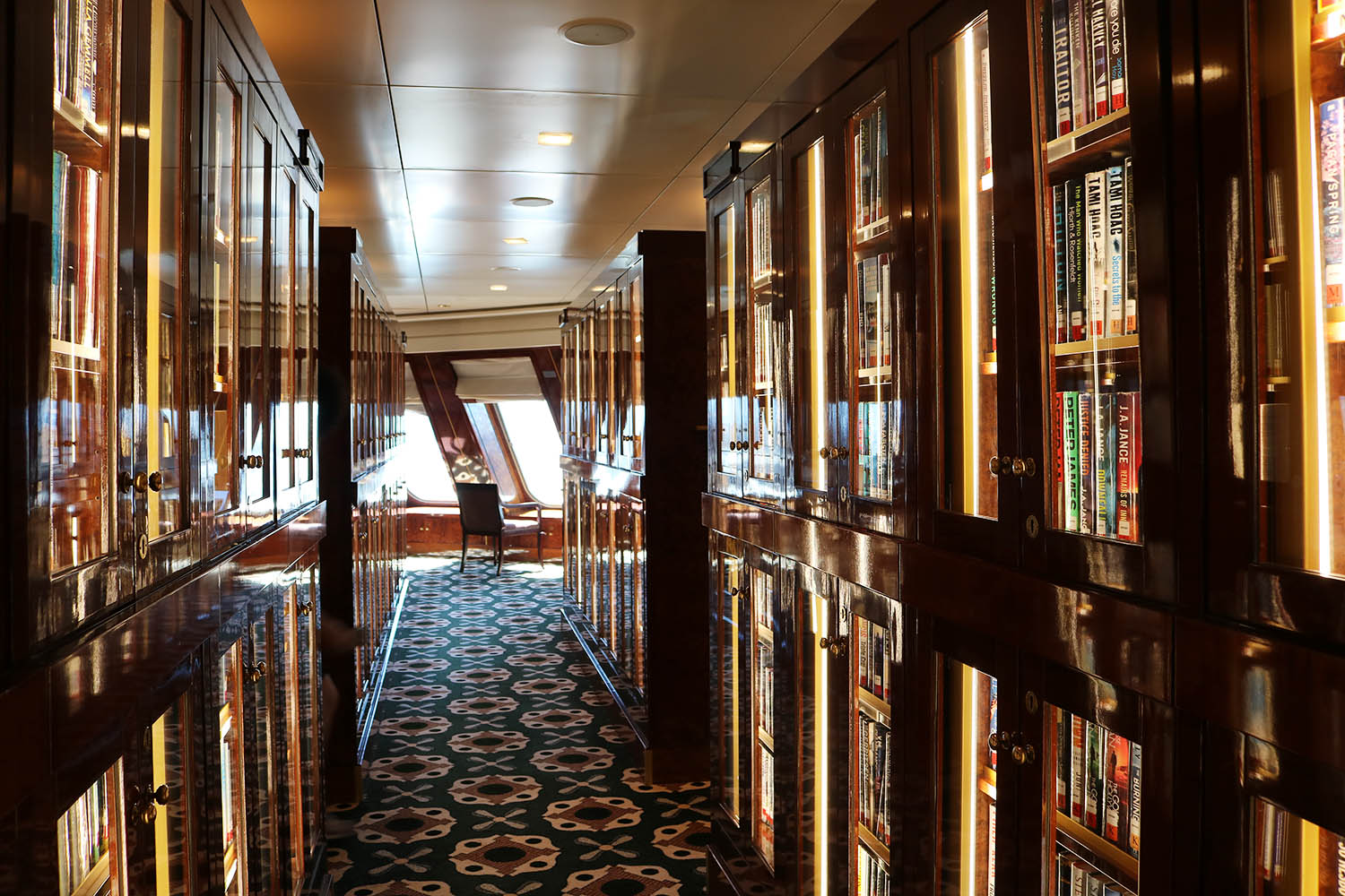 video stroll through queen mary 2 luxury liner with me 9lives
