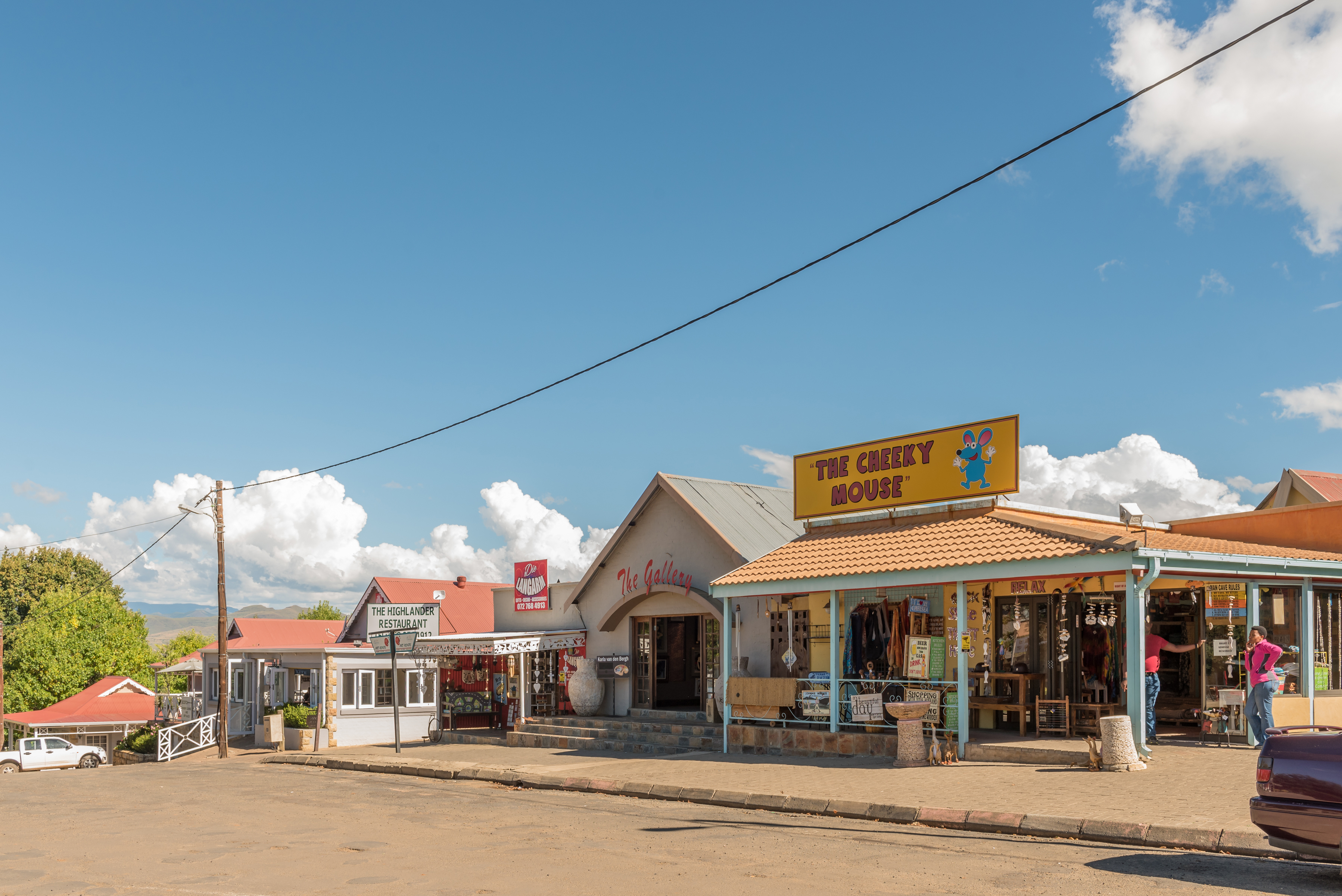 Small towns South Africa - Clarens