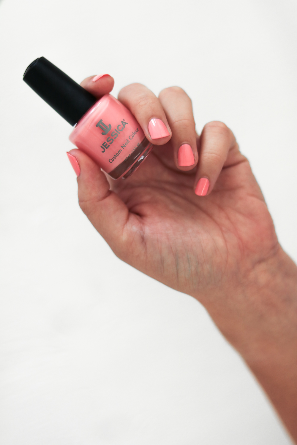 Jessica Custom Nail Colour in Peony | 9Lives