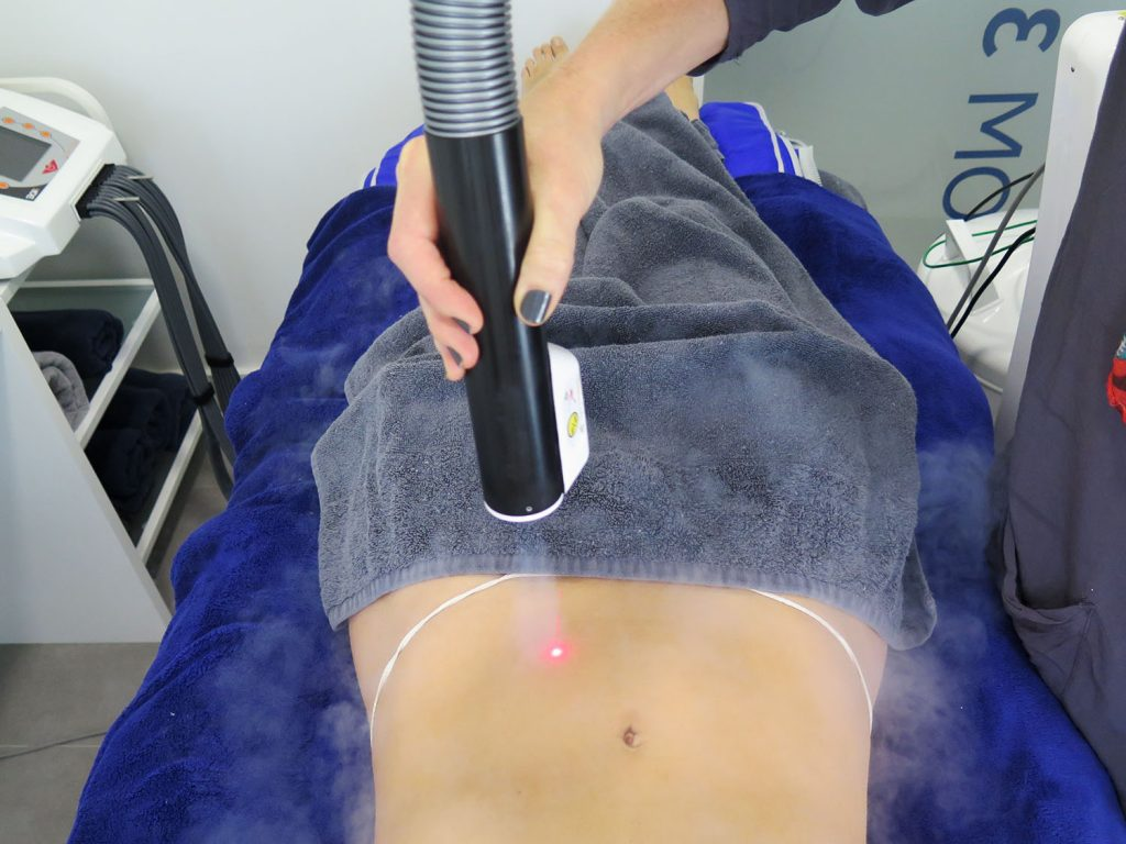 Localised cryotherapy