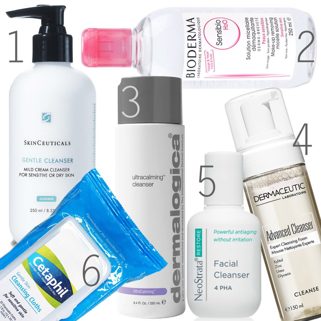Cleansers for Sensitive Skin