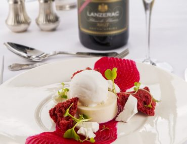 Lanzerac Winemakers Dinners Coconut and Grapefruit Panna Cotta
