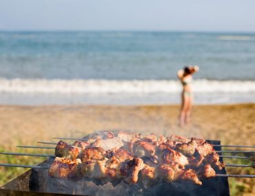 Beach braai Western Cape