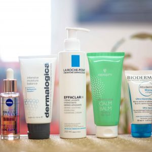 TLC skincare products