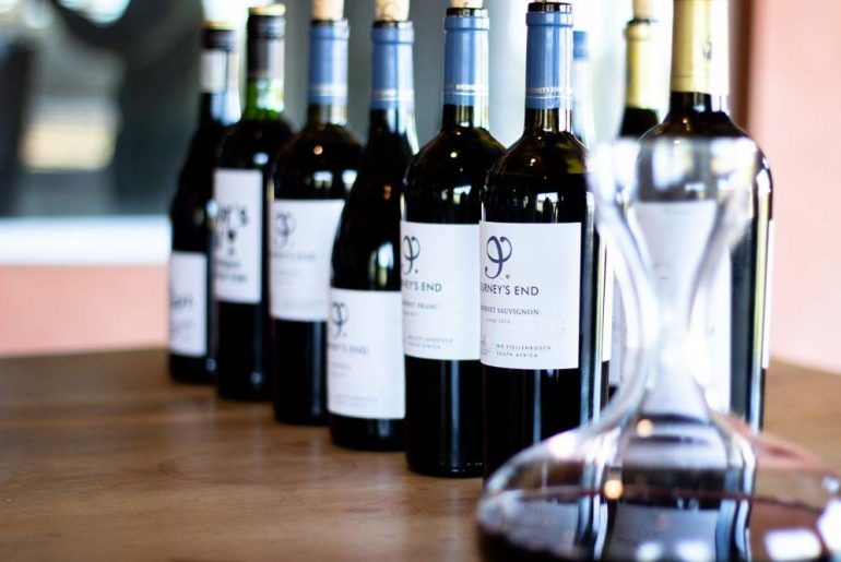Journey's End wines