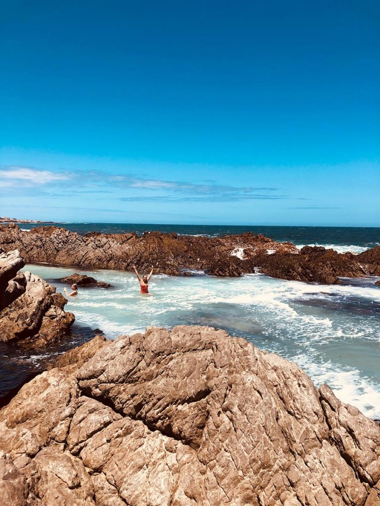 Rockpools at Pringle Bay