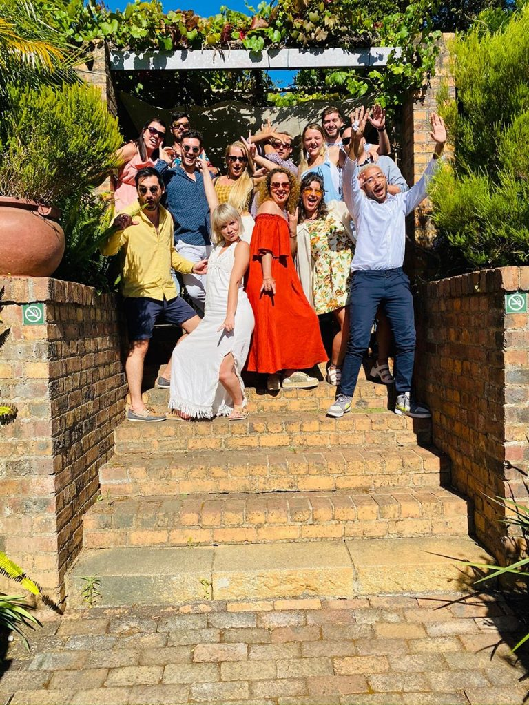 Delheim Wine Farm Tour Group