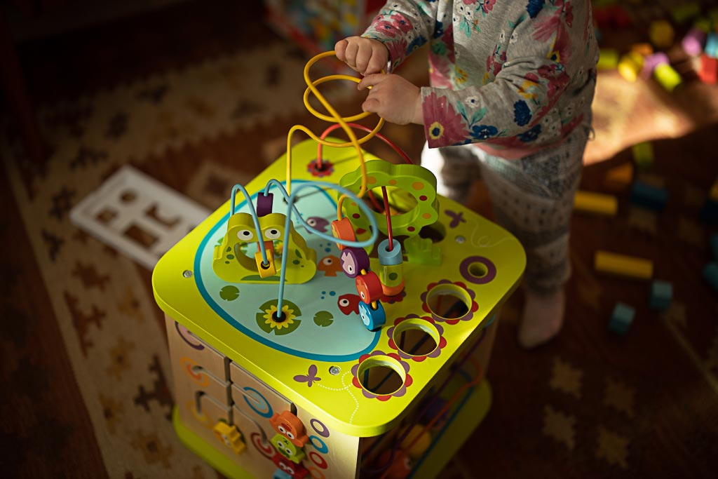 Toddler Toys Hape Country Critters Play Cube
