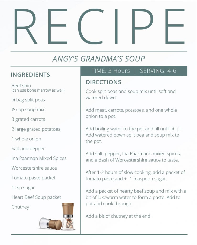 Father's Day - Recipes - Soup